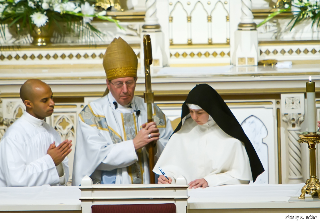 Profession of Sr. Mary Emily, O. Praem.
