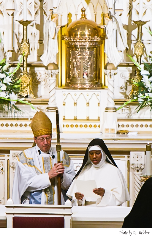 Profession of Sr. Mary John Paul, O. Praem.