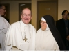 Mother and Father Abbot Eugene Hayes, O. Praem.