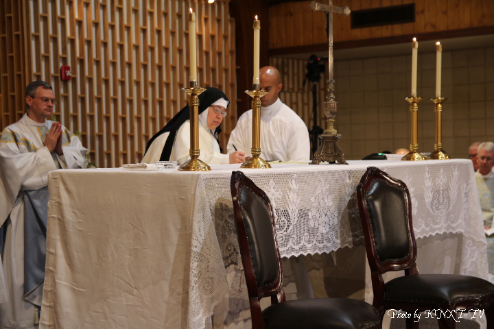 08 Signing of the Religious Profession
