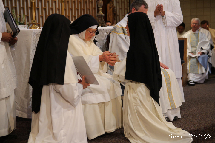 10 Profession of the Three Vows - Sr. Mary Michael