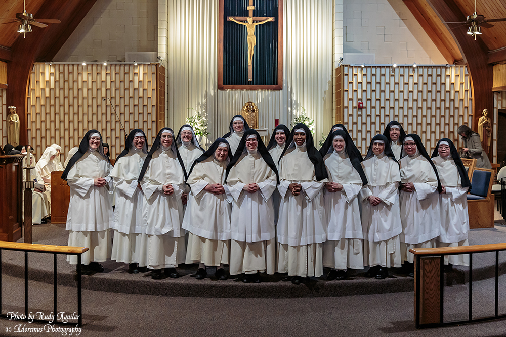 29 Norbertine Canonesses - Solemnly Professed Sisters