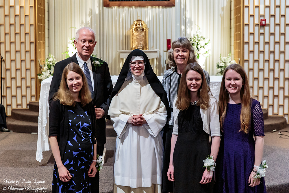 32 Sr. Mary Thomas with her immediate family