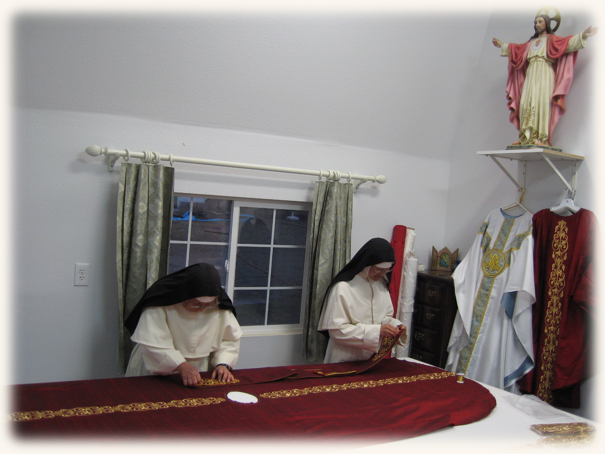 vestment making